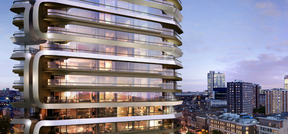 Modern BuildingCanaletto Tower, the new London modern buildingCanaletto Suites by Goddard Littlefair