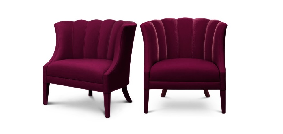 The Inspiration of BEGONIA modern armchair