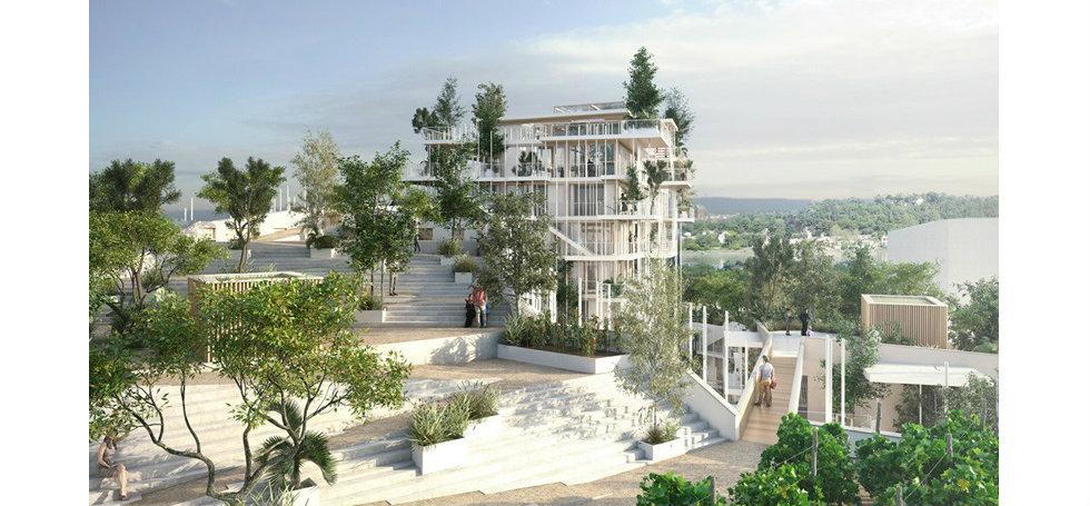 architecture designsArchitecture Designs: Vegetated Towers In BordeauxArchitecture Designs Vegetated Towers In Bordeaux