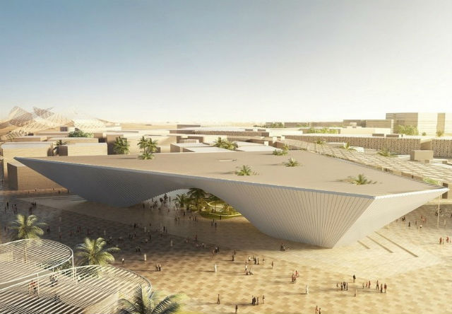 BIG, Foster+Partners and Grimshaw reveal pavilion designs for dubai expo 2020Foster Partners and Grimshaw reveal pavilion designs for dubai expo 2020
