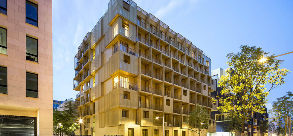 French ArchitectureFrench Architecture: Hamonic + Masson Designs 156 Student ResidencesFrench Architecture Hamonic Masson Designs 156 Student Residences 0