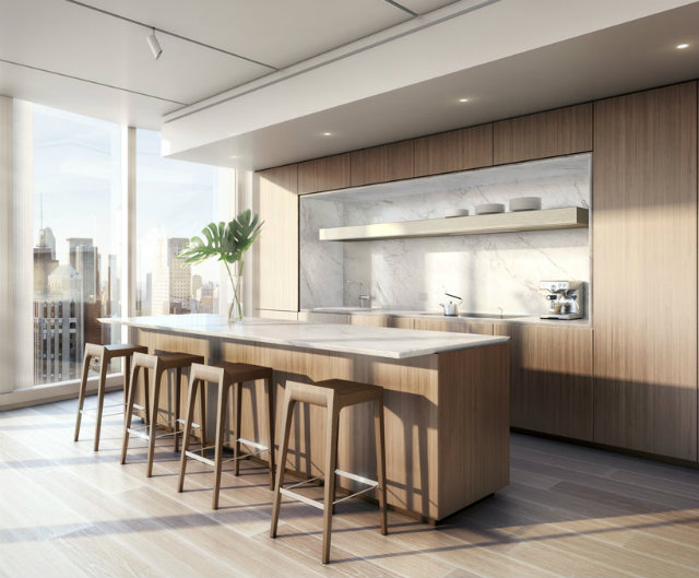 the narrow footprint allows the interior spaces to be flooded with daylight foster partnersFoster Partners new residential tower in New Yorkthe narrow footprint allows the interior spaces to be flooded with daylight