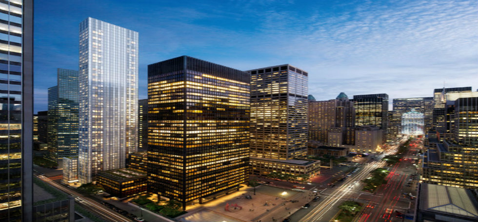 Foster Partneres: the scheme will rise at the corner of lexington and 53rd street in midtown manhattan foster partnersFoster Partners new residential tower in New Yorkthe scheme will rise at the corner of lexington and 53rd street in midtown manhattan
