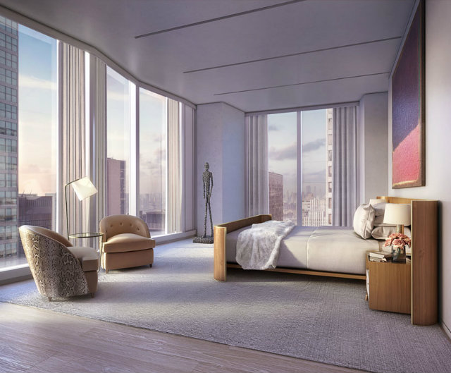 the tower contains a total of 94 units at 61 storeys foster partnersFoster Partners new residential tower in New Yorkthe tower contains a total of 94 units at 61 storeys
