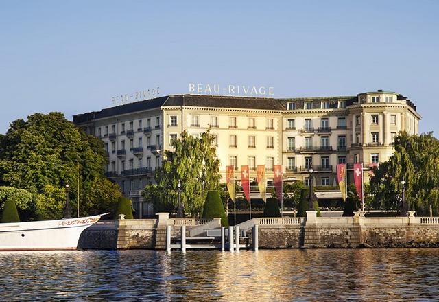 Swiss Deluxe Hotels Genève - Beau-Rivage Switzerland   41 Swiss Deluxe Hotels15 Swiss Deluxe Hotels Gen  ve Beau Rivage