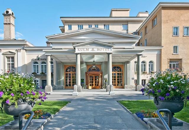 Swiss Deluxe Hotels St. Moritz - Kulm Hotel St. Moritz Switzerland   41 Swiss Deluxe Hotels24 Swiss Deluxe Hotels St