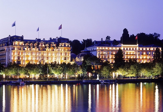 Swiss Deluxe Hotels Lausanne - Beau-Rivage Palace Switzerland   41 Swiss Deluxe Hotels40 Swiss Deluxe Hotels Lausanne Beau Rivage Palace