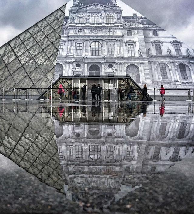 Artist JR Transforms The Musée du Louvre With Optical Illusion (3) musée du louvreArtist JR Transforms The Musée du Louvre With Optical IllusionArtist JR Transforms The Mus  e du Louvre With Optical Illusion 3 1
