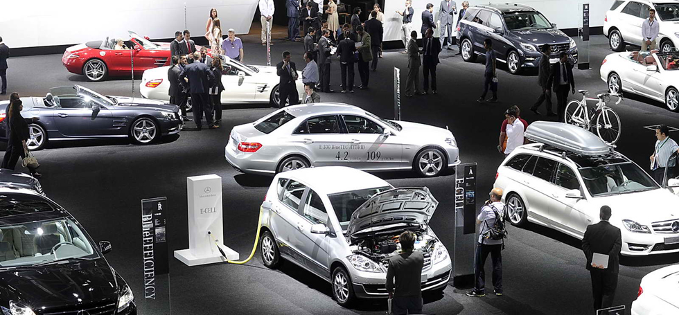 Car exhibition at the Salon of Madrid Car exhibition at the Salon of MadridCar exhibition at the Salon of Madridcapa 1