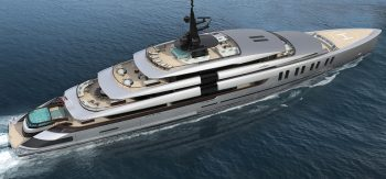 Colosseum one of the world's most luxurious yachts