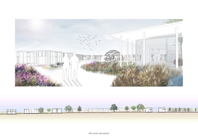 The Meadow: a social architecture project for refugees and homeless families The Meadow: a social architecture project for refugees and homeless familiesvisual and sitesection