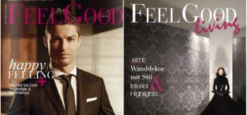 Luxury lifestyle maganize Cristiano Ronaldo