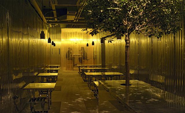 Regular ramen shop transformed into a BBQ bar by Robot3