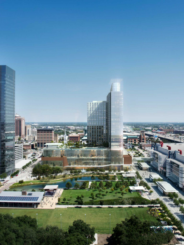 The Marriott Marquis Houston, luxurious, hospitaity, contract, Texas, best projects, inspirations, where to stay, grand opening