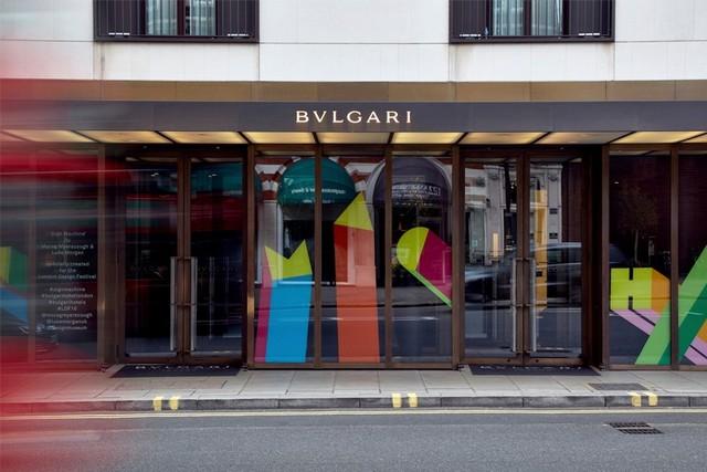 Best London Hotels - Bulgari Hotel London London Design Festival 2016Bulgari Hotel welcomes Sign Machine for London Design Festival 2016Bulgari Hotel welcomes Sign Machine for London Design Festival 2016 2