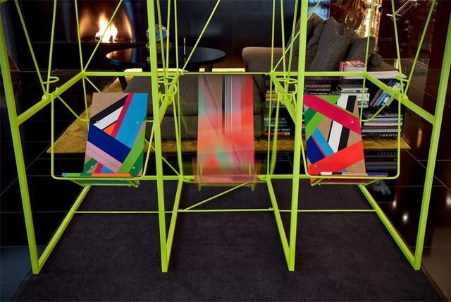 Morag Myerscough & Luke Morgan collaboration for Bulgari London Hotel London Design Festival 2016Bulgari Hotel welcomes Sign Machine for London Design Festival 2016Bulgari Hotel welcomes Sign Machine for London Design Festival 2016 5