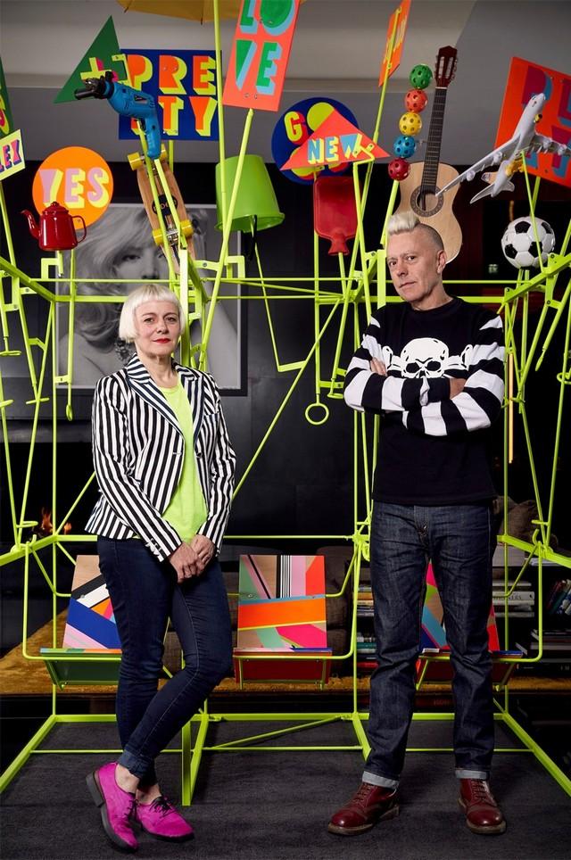 Morag Myerscough & Luke Morgan collaboration for Bulgari London Hotel London Design Festival 2016Bulgari Hotel welcomes Sign Machine for London Design Festival 2016Bulgari Hotel welcomes Sign Machine for London Design Festival 2016 7