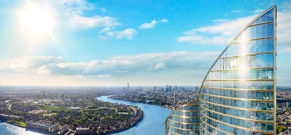 The Spire Luxury london apartment luxury london apartmentsNEW LUXURY LONDON APARTMENTS IN GROUNDBREAKING SKYSCRAPERTHe cover