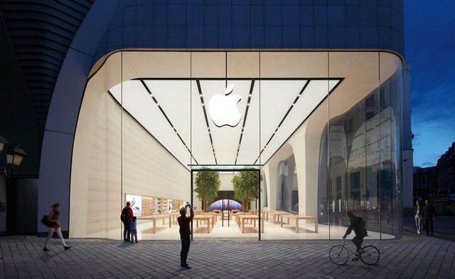top UK architecture company London Apple storeLondon Apple store redesigned by Foster + Partnersbrusells