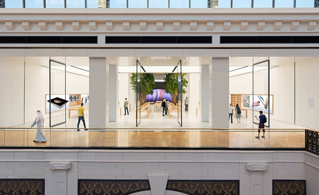 top UK architecture company London Apple storeLondon Apple store redesigned by Foster + Partnersdubai