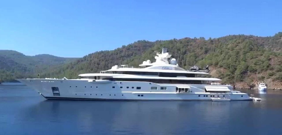 German company Lürssen delievers world's largest yacht