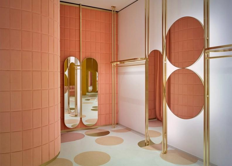 London fashion boutique red valentino storeRED Valentino Store in London by India Mahdaviredvalentino store pierpaolo piccioli and india mahdavi interior design london dezeen 2364 ss 5 1024x732