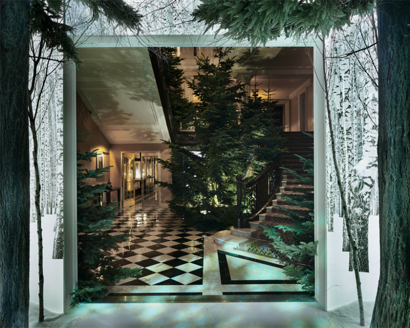 CLARIDGE'S CHRISTMAS TREE 2016 claridge's christmas tree 2016CLARIDGE'S CHRISTMAS TREE 2016 BY THE DUO SIR JONY IVE AND MARC NEWSONjony ive marc newson claridges christmas tree 2016 designboom07