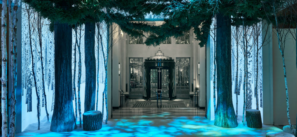 CLARIDGE'S CHRISTMAS TREE 2016