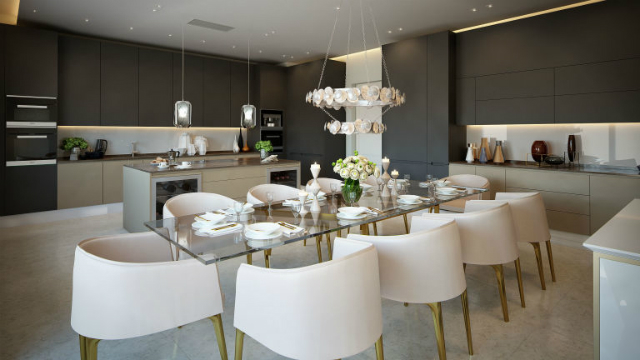 Luxury Apartments In London That Once Were The Titanic Ticket Office luxury apartments in londonLuxury Apartments In London That Once Were The Titanic Ticket Officegallery 1479856811 oceanic housepenthouse dining room