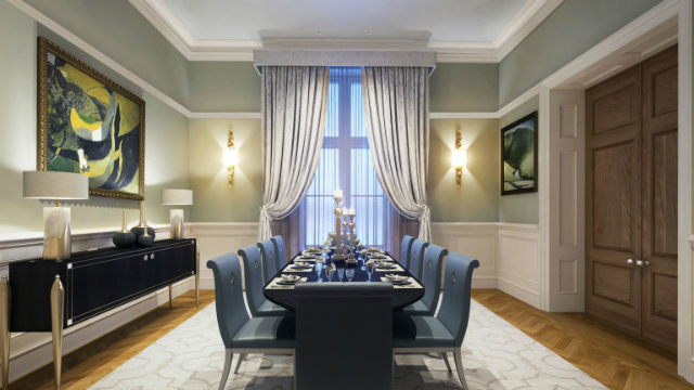 Luxury Apartments In London That Once Were The Titanic Ticket Office luxury apartments in londonLuxury Apartments In London That Once Were The Titanic Ticket Officegallery 1479856882 oceanic house dining room