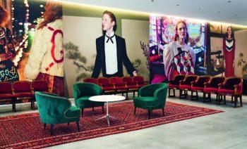 Gucci's new creative hub interior design project by Piuarch