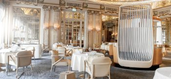 The Stunning Interiors of Alain Ducasse's Restaurant in Monte-Carlo