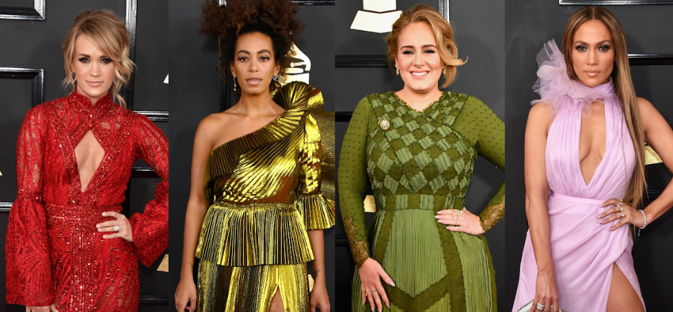 2017 Grammy Awards: The Best Red Carpet Dresses