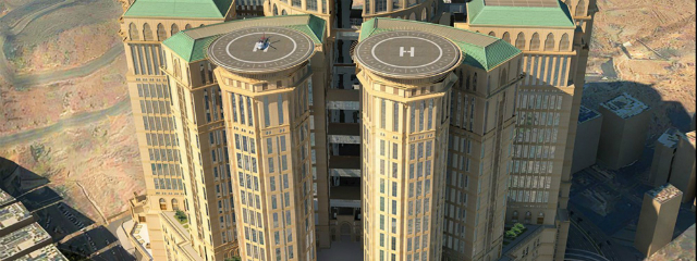 Top Hotels To Be Open By 2020: ABRAJ KUDAI TOWERS