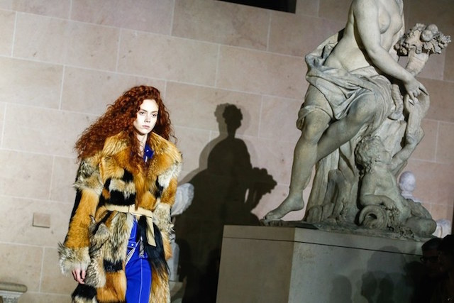 Paris Fashion Week 2017: Louvre stands for Louis Vuitton Fall Show