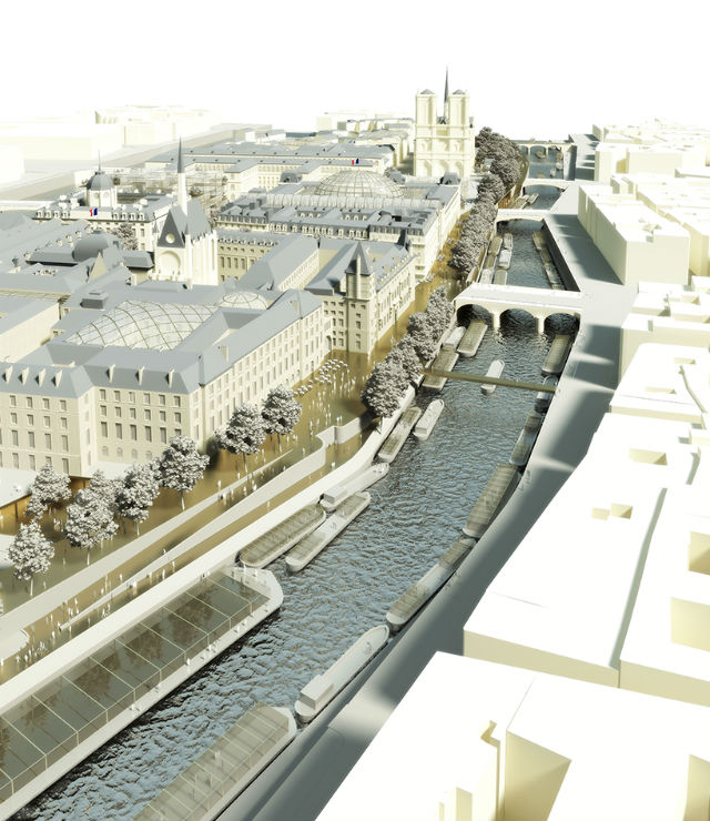 Dominique Perrault + Philippe Bélaval Aim to Revive Paris' Île de la Cité (4)