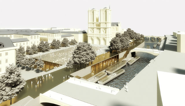Dominique Perrault + Philippe Bélaval Aim to Revive Paris' Île de la Cité (6)