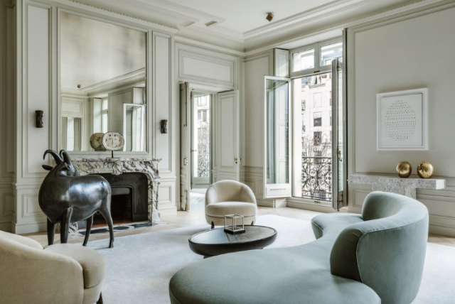Joseph Dirand Designed a New Paris Apartment and it's Stunning