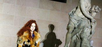 Paris Fashion Week 2017: Louvre stands for Louis Vuitton Fall Show