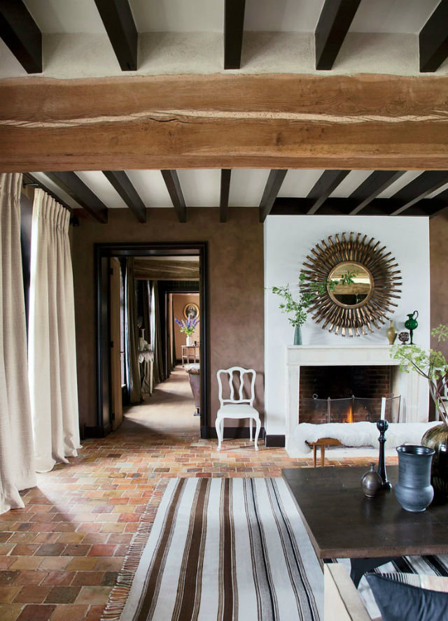 See Inside a Sophisticated Farmhouse Designed by Jean-Louis Deniot