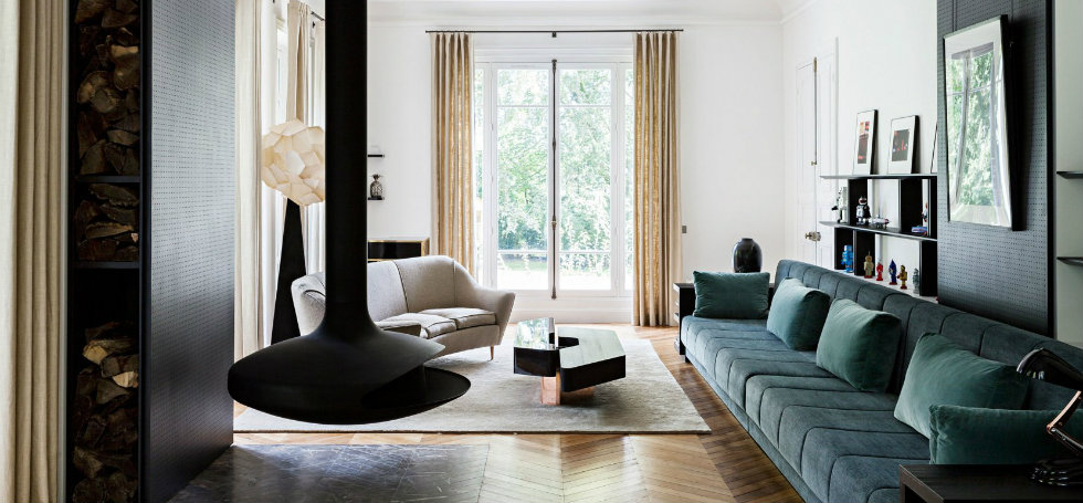 Tristan Auer Completes the Renovation of a Luxurious Family Residence in ParisTristan Auer Completes the Renovation of a Luxurious Family Residence in Paris 1