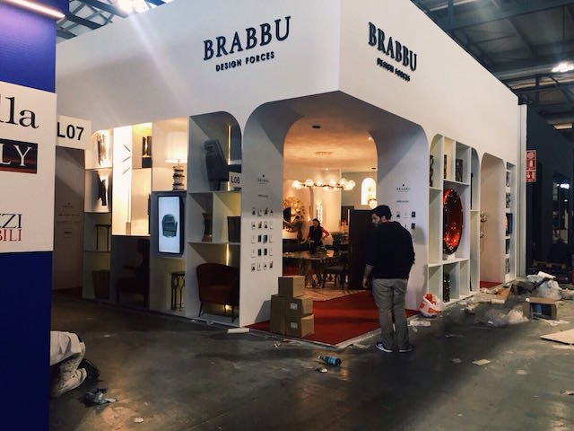 Behind the scenes: BRABBU final countdown for iSaloni 2017 Behind the scenes: BRABBU final countdown for iSaloni 2017WhatsApp Image 2017 04 03 at 16