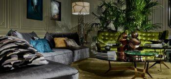 The Luxurious Jungle of Roberto Cavalli Home Interiors at Salone del Mobile 2017