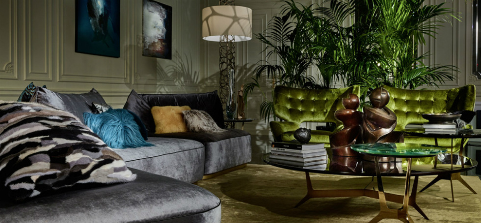 The Luxurious Jungle Of Roberto Cavalli Home Interiors At Salone Del Mobile 2017 News Events By Brabbu Design Forces