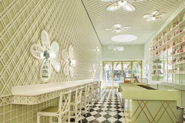 Inside the New Beverly Hills Café Designed by India Mahdavi Inside a New Beverly Hills Café Designed by India MahdaviInside a New Beverly Hills Caf   Designed by India Mahdavi 2