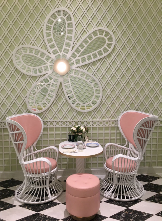 Inside the New Beverly Hills Café Designed by India Mahdavi Inside a New Beverly Hills Café Designed by India MahdaviInside a New Beverly Hills Caf   Designed by India Mahdavi 6