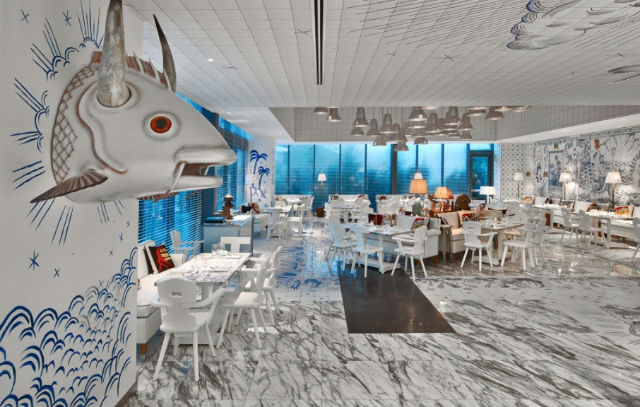New Miami restaurant Decorated by French Designer Philippe Starck New Miami restaurant Decorated by French Designer Philippe StarckNew Miami restaurant Decorated by French Designer Philippe Starck 3