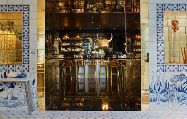 New Miami Restaurant Decorated By French Designer Philippe