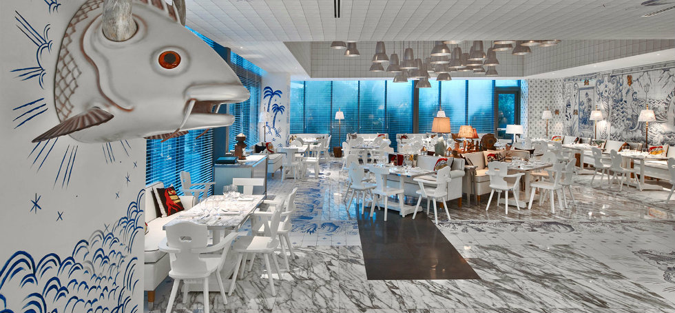 New Miami restaurant Decorated by French Designer Philippe StarckSLS Brickell 2016 35