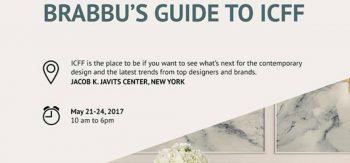 BRABBU's Ultimate Guide for ICFF & New York Design Week